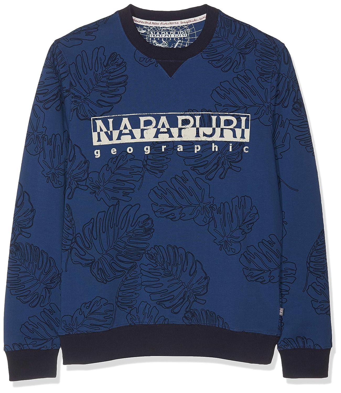 Multicolour (Fantasy F14) S Napapijri Men's Bellary Fantasy Sweatshirt