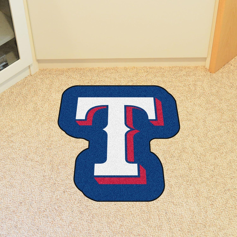 One Size Team Color FANMATS MLB Texas Rangers Mascot Mat