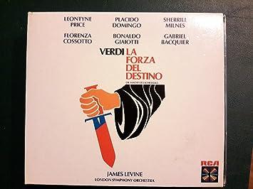 Verdi: La Forza Del Destino - Placido Domingo, Leontyne Price, Sherrill  Milnes, Florenza Cossotto, Giuseppe Verdi, James Levine, London Symphony  Orchestra: Amazon.de: Musik