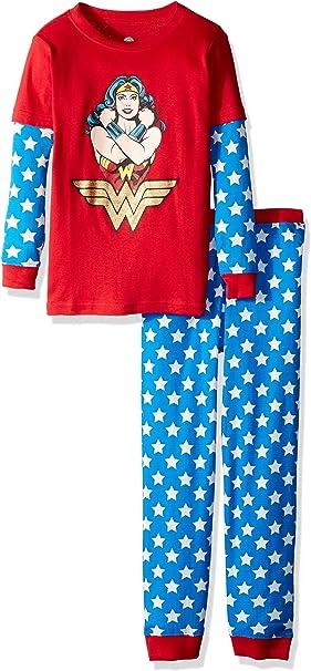 INTIMO Girls Classic Wonder Pajama Set
