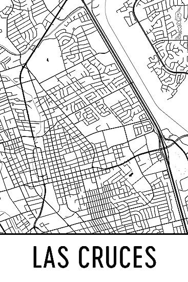Amazoncom Las Cruces print Las Cruces Art Las Cruces Map Las