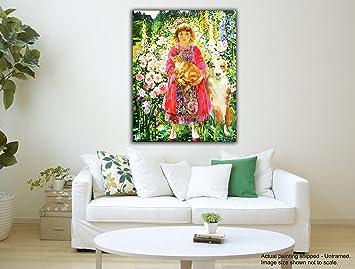 Tamatina tela dipinti - a Girl from Heaven - Olga Suvorova - arte ...