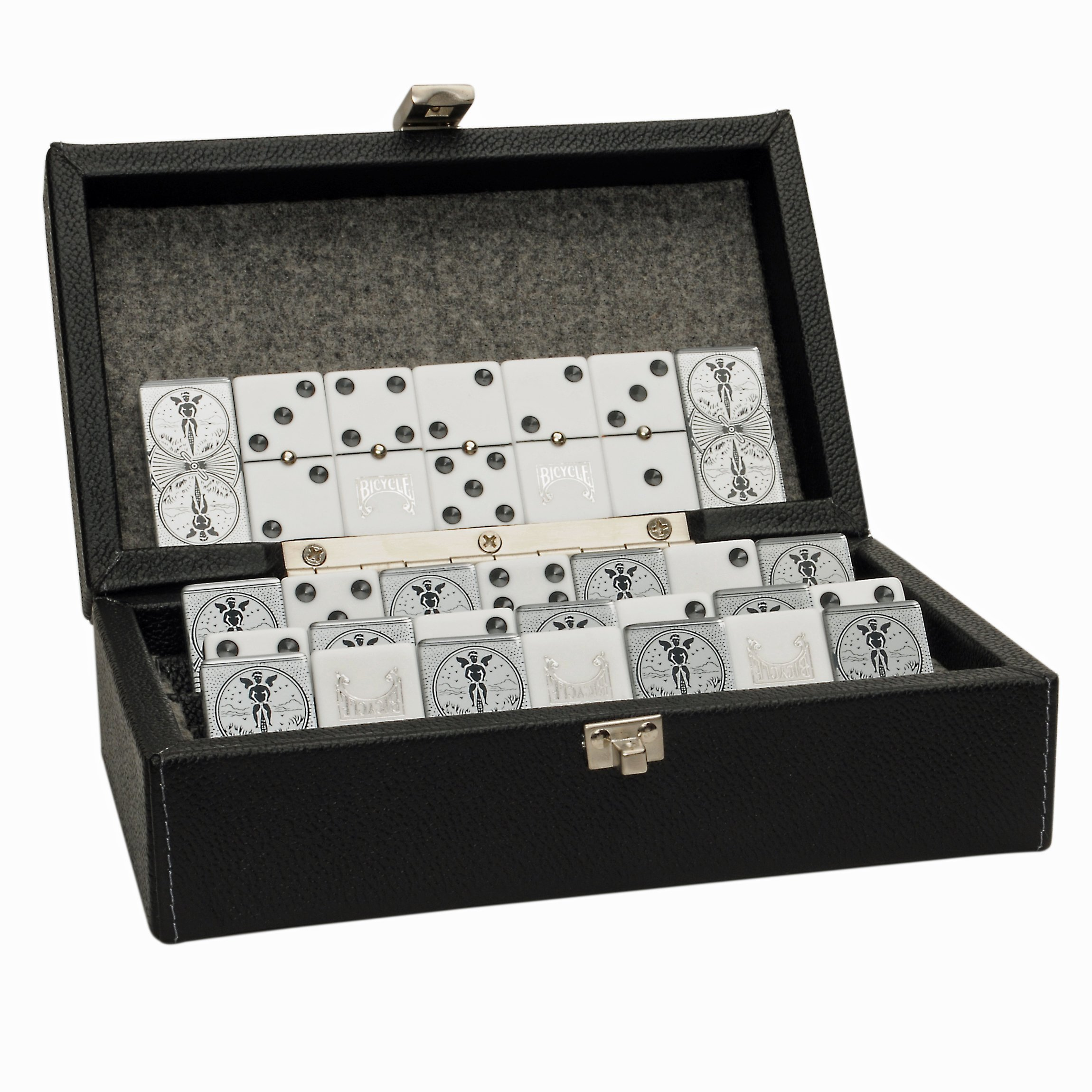 WE Games Luxury Domino Case -Double 6 by Wood Expressions (Image #1)