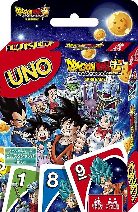 Ensky [Amazon.co.JP Limited Edition] Dragon Ball Super UNO UNO Card with Stamping: Amazon.es: Juguetes y juegos