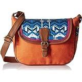 Kanvas Katha Women's Sling Bag (Multi Color) (KKSLWV009)