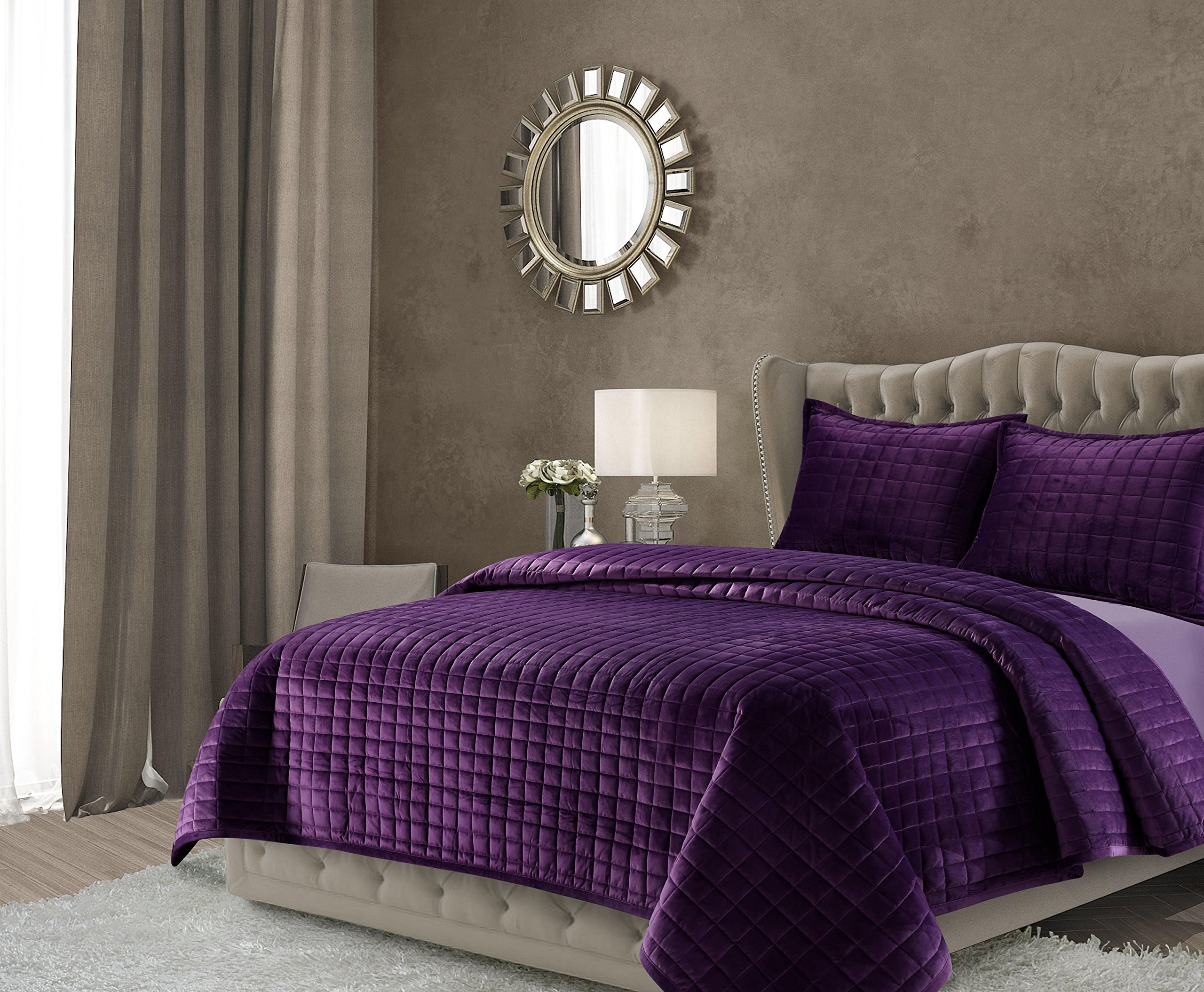 graphic set co purple aetherair quilt sheet twin asli