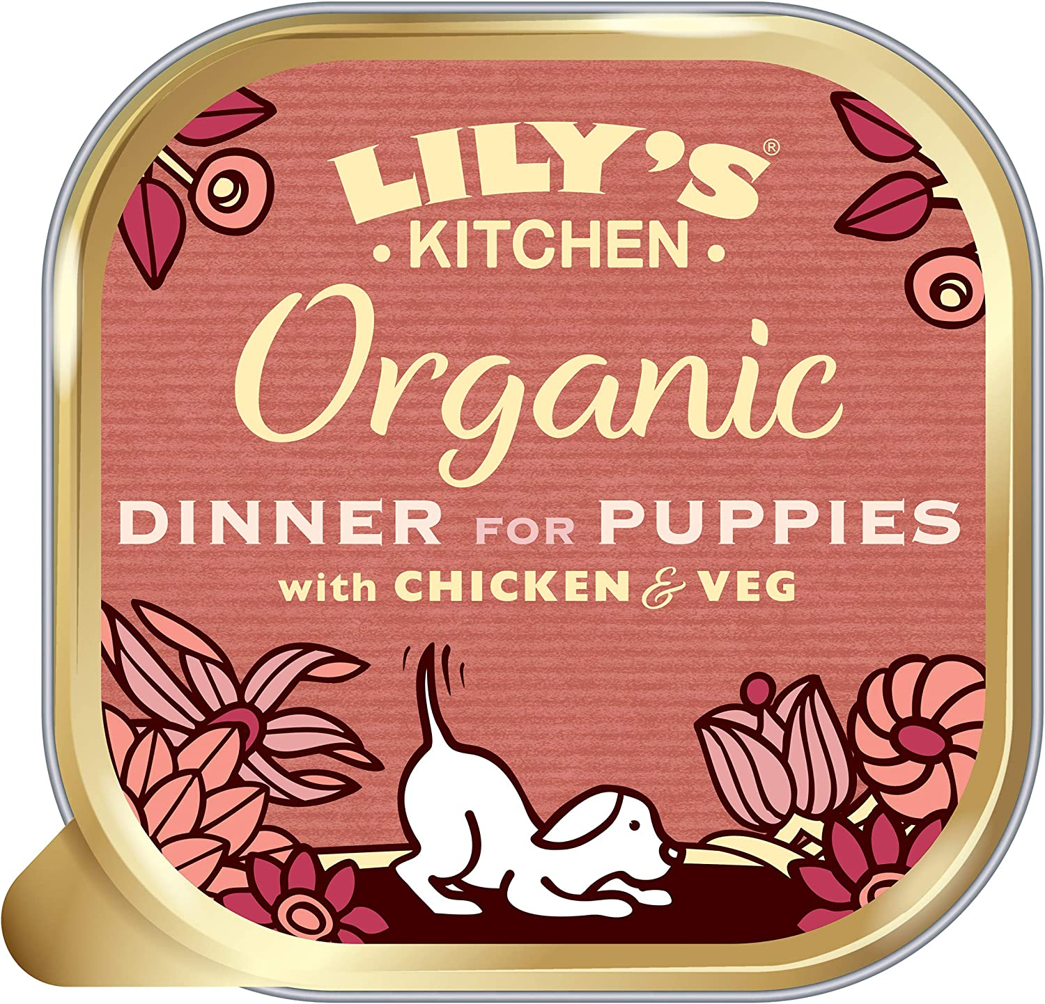 Lily's Kitchen Organic Dinner - For Puppies 150g (Pack of 11)