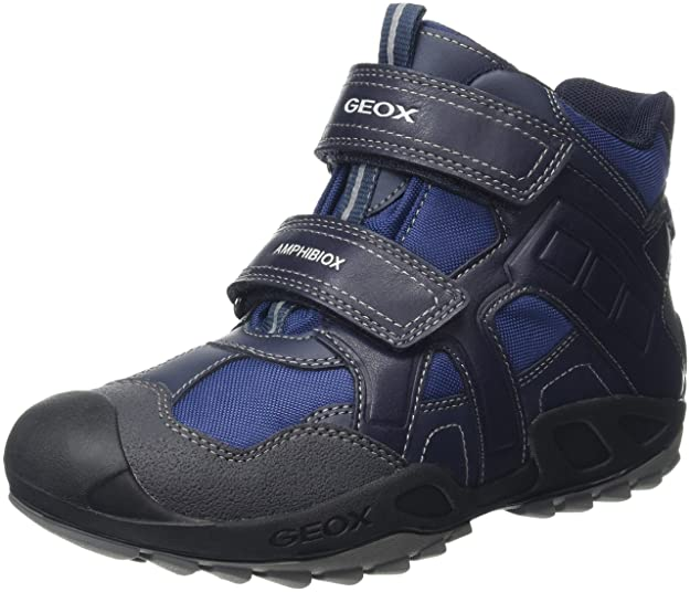 Geox J New Savage Boy B ABX A - Zapatillas para Niños, Color Azul (navy/greyc0661), Talla 33 EU