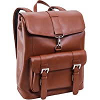 McKlein Unisex Hagen Leather Laptop Backpack
