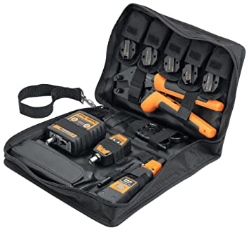 Set of 7 Pieces Paladin Tools PA9010531 Dataready Toolkit Amp//Krone Version
