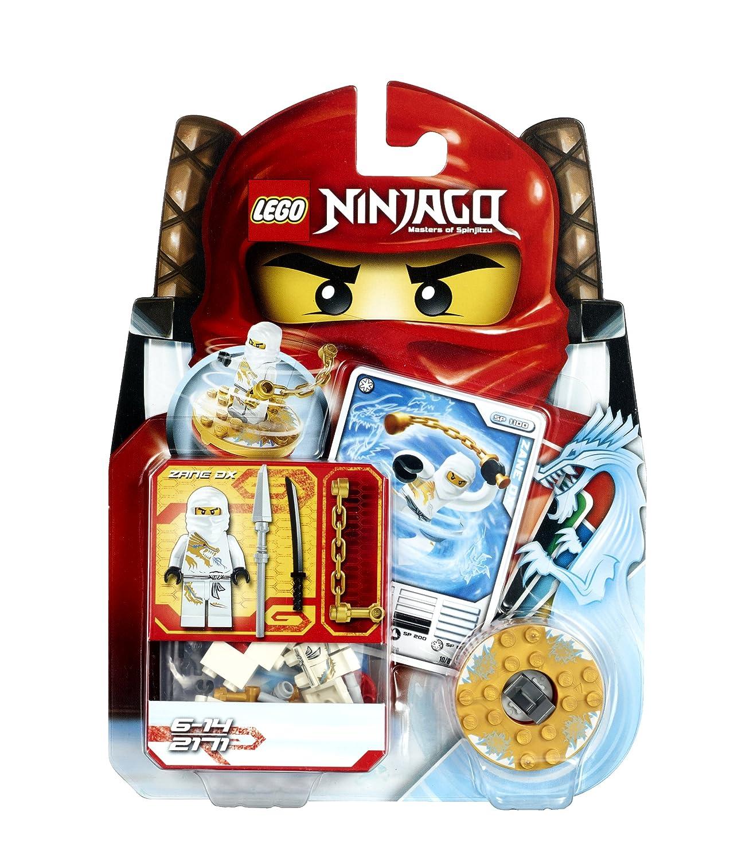 amazoncom lego ninjago zane dx 2171 toys games - Ninjago Spinjitzu