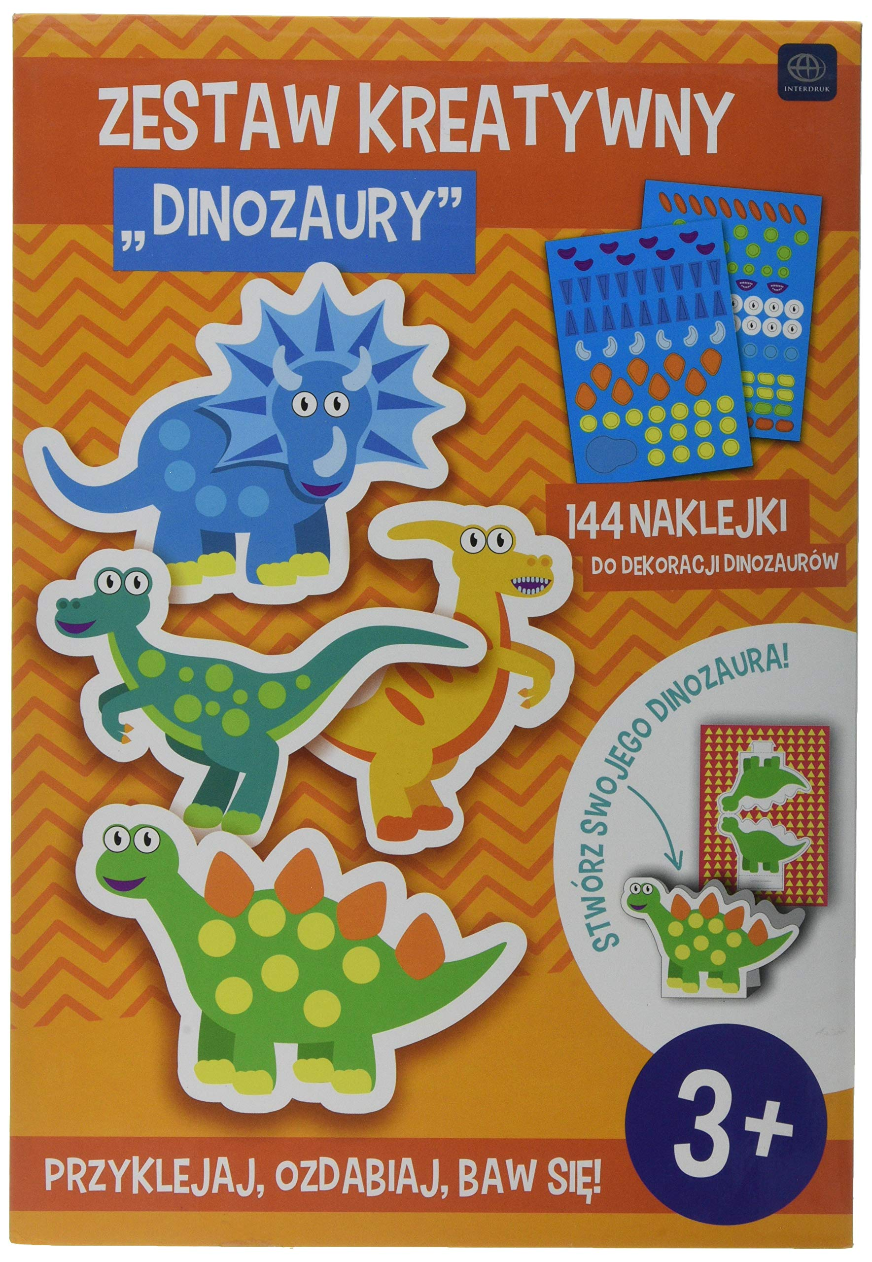 Interdruk ZESKREDIN Creative Set - Dinosaurs, Multi-Color by Interdruk