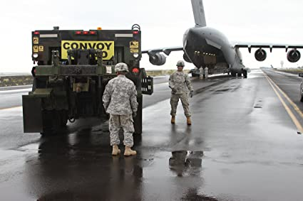Home Comforts Canvas Print Soldiers of The 45th Sustainment Brigade transported Military Vehicles DRASH Tents & Amazon.com: Home Comforts Canvas Print Soldiers of The 45th ...