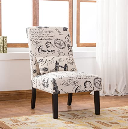 Amazon.com: Silla Pisano de chenilla AC160CH de estilo ...