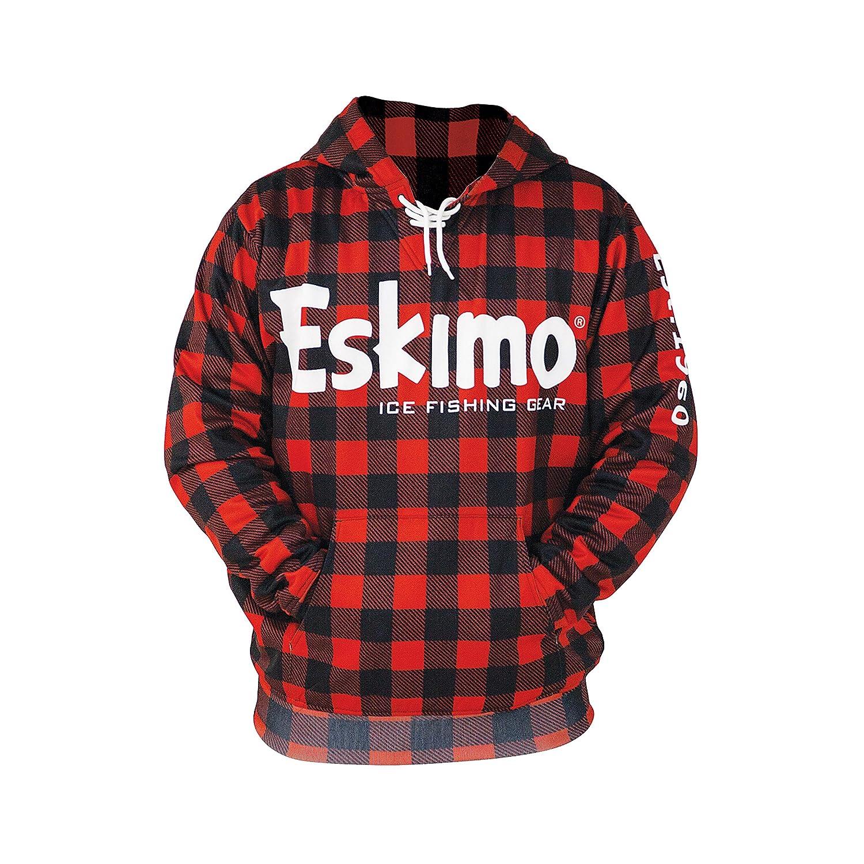 05dbb04c35d Amazon.com : Eskimo Buffalo Plaid Hoodie 3XL 24396 Buffalo Plaid Hoodie  Sweatshirt, 3XL : Clothing