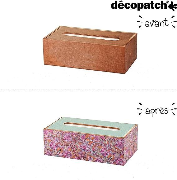 Carta 3 unit/à Viola Decopatch Decorazione