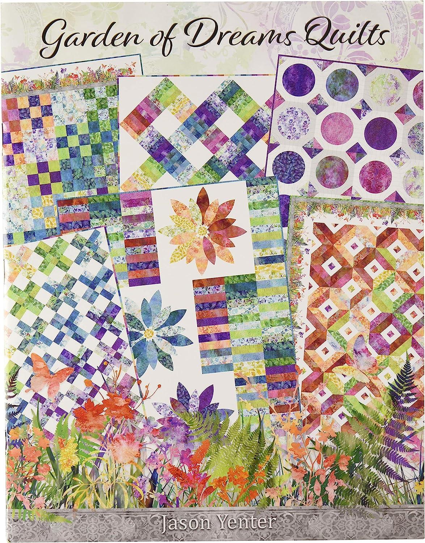 Amazon Com In The Beginning Fabrics Itbjylbk Garden Of Dreams