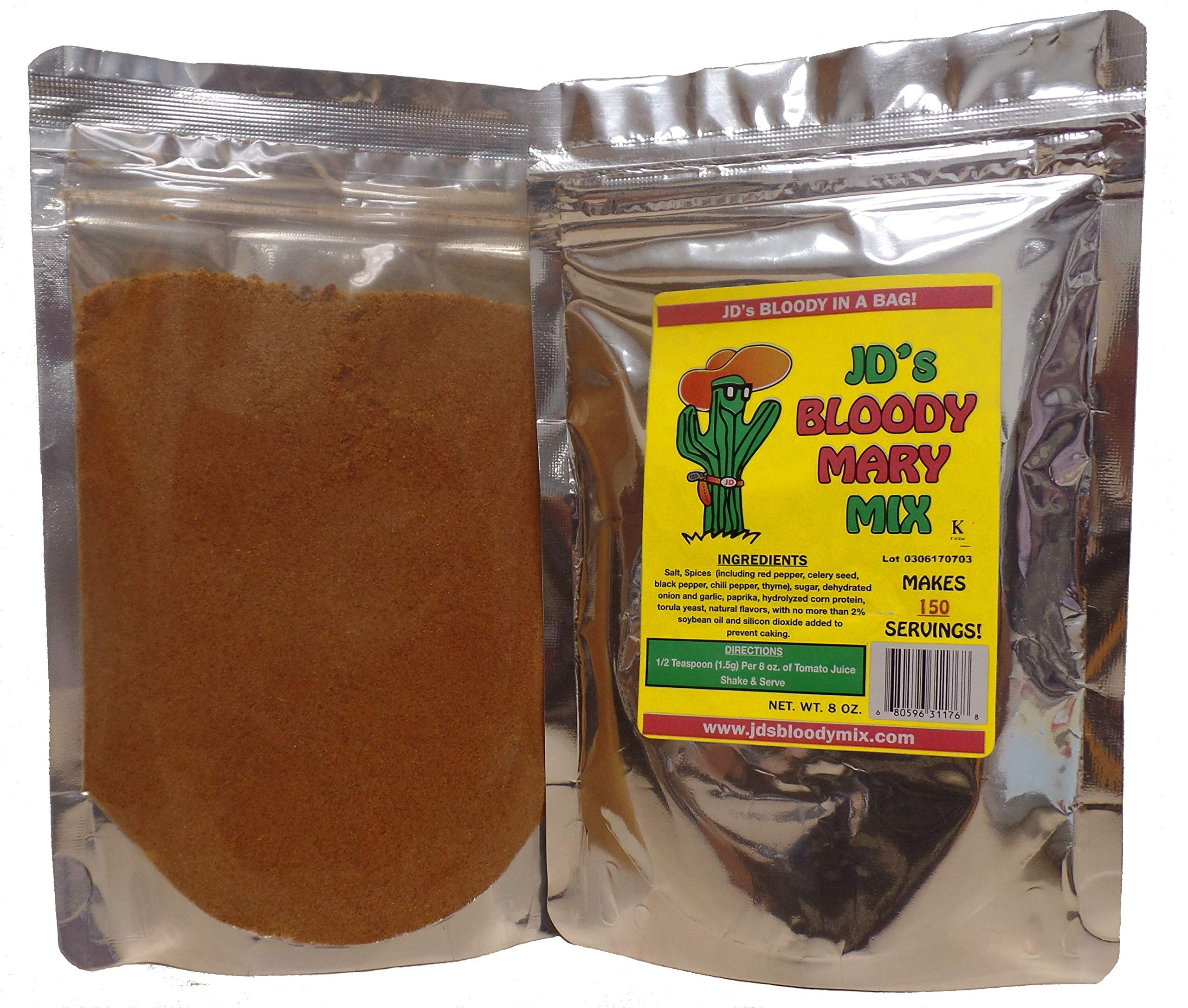 JDs Bloody Mary Mix (2 Packages, 300 Servings!)