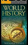 World History, Ancient History, Asian History, United States History, European History, Russian History, Indian History, African History.