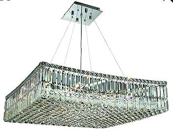 Amazon.com: Elegante iluminación 2032d28 C/RC Maxim 7.5-inch ...