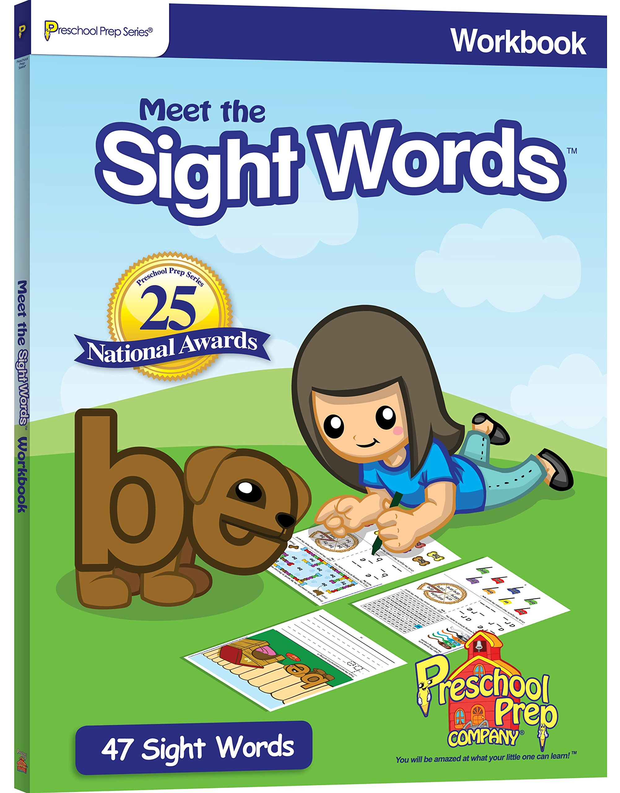 Meet the Sight Words Workbook: Kathy Oxley, Preschool Prep Company ...