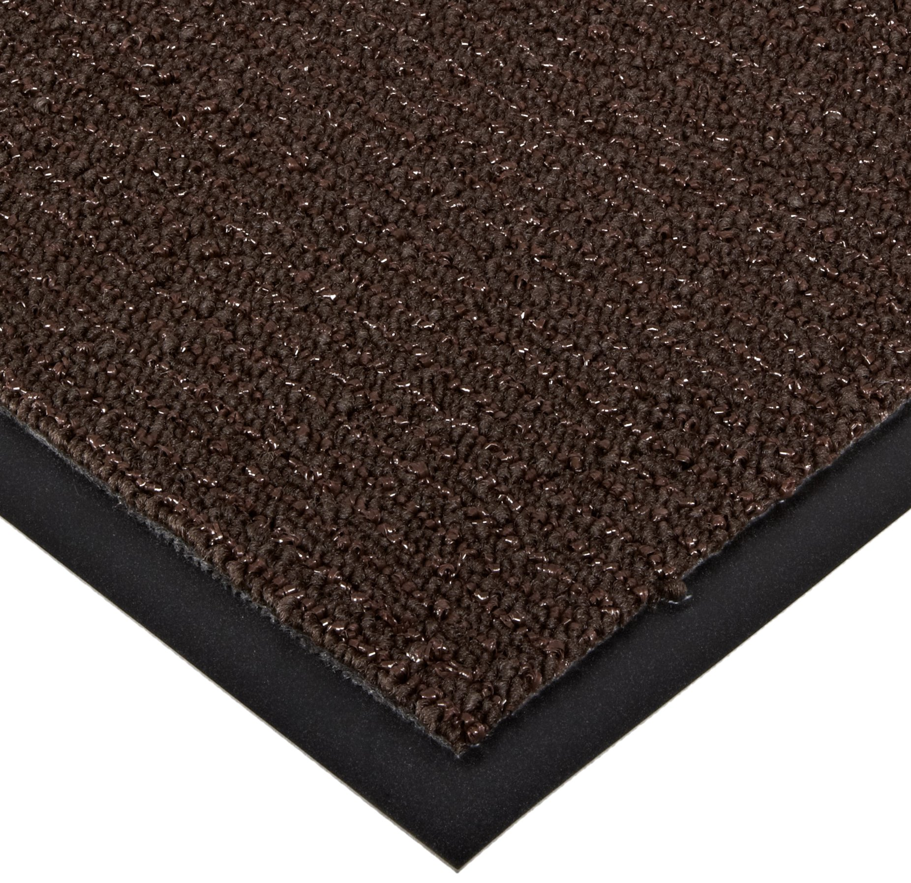 Notrax 146 Encore Entrance Mat, for Inside Foyer Area, 3' Width x 10' Length x 5/16'' Thickness, Brown