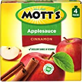 Mott's Cinnamon Applesauce, 3.2 oz pouches (Pack of 24)