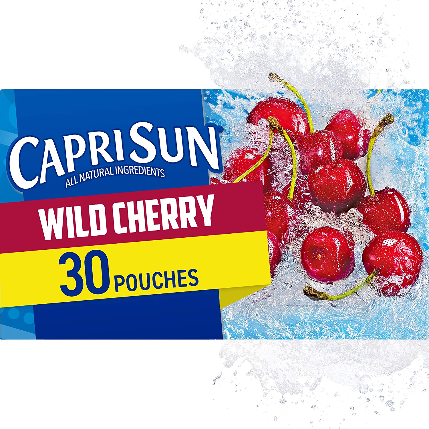Handmade Recycled Capri Sun Juice Pouch Totes w Front Pocket *YOUR CHOICE of 1 of 2 flavors  Wild Cherry or Pacific Cooler
