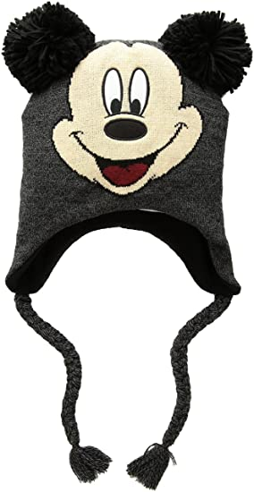 Disney Mickey Mouse Pom Ears - Gorro de Invierno para Hombre 6e95120e9d7