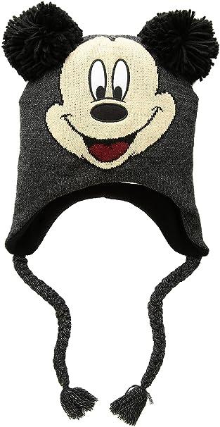 295b2a385e8 Amazon.com  Disney Classics Mickey Mouse Winter Beanie  Clothing