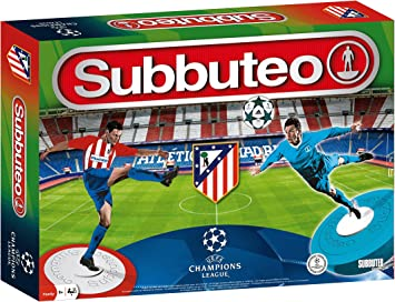 Subbuteo- Playset ATL&Eacutetico de Madrid UEFA Champions League ...