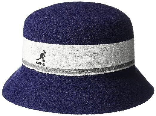 87c1f8342 Kangol Bermuda Stripe Bucket Hat Navy X-Large at Amazon Men's ...