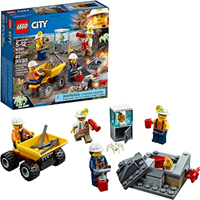 LEGO City Mining Team 60184 Building Kit (82 Piece): Toys & Games