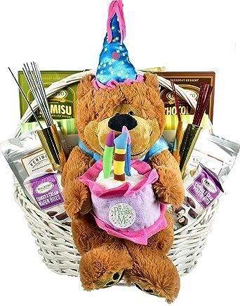 Its My Birthday!, cesta de regalo de cumpleaños con oso ...