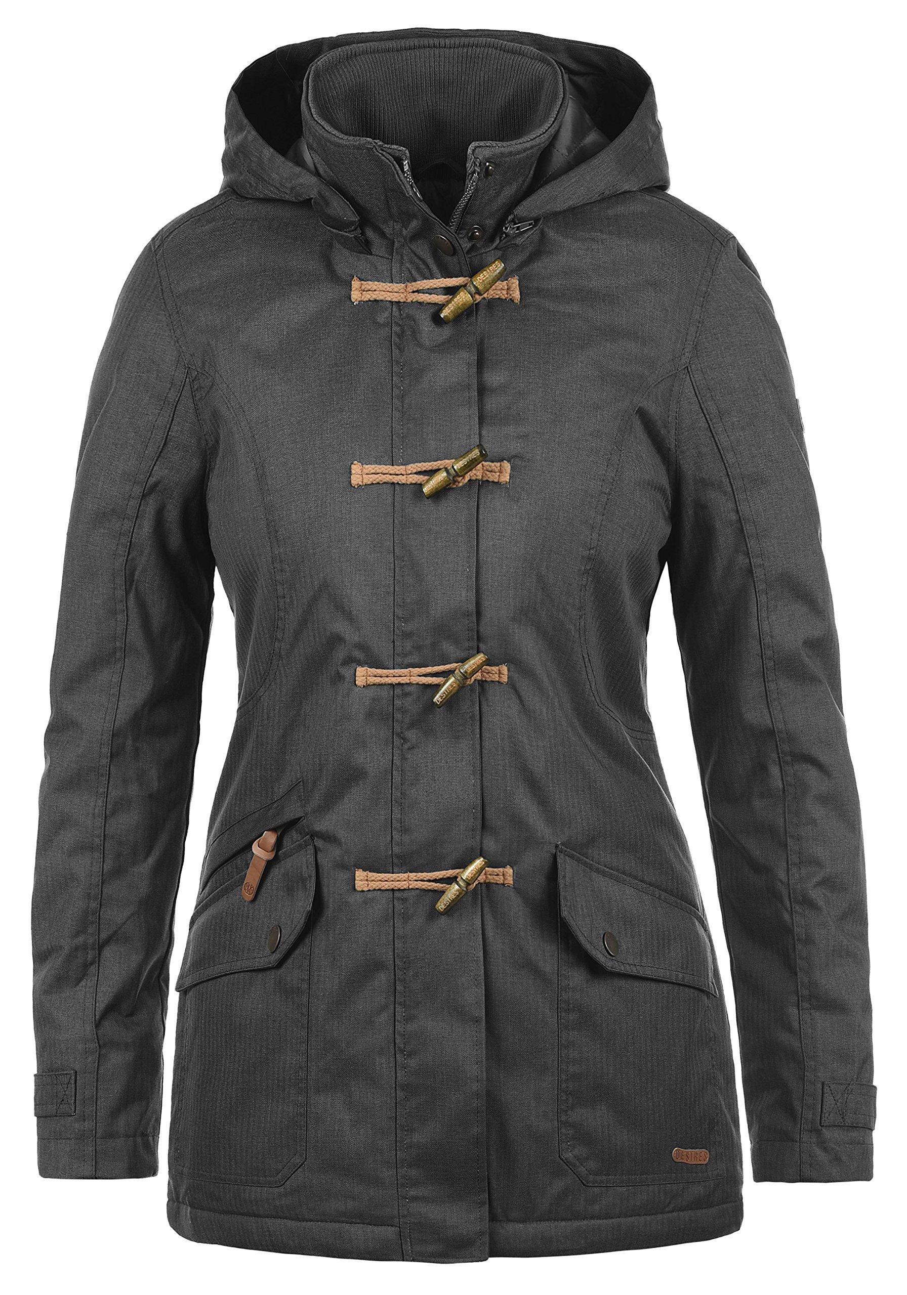 Desires Brooke Duffle-Coat Abrigo Chaqueta De Invierno para Mujer con  Cuello Alto product image 4596e51b4c24