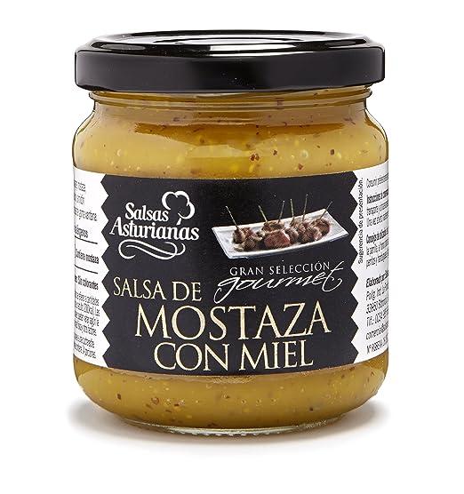 SALSAS ASTURIANAS mostaza con miel frasco 210 gr