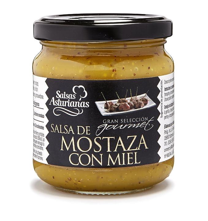 SALSAS ASTURIANAS mostaza con miel frasco 210 gr: Amazon.es: Alimentación y bebidas