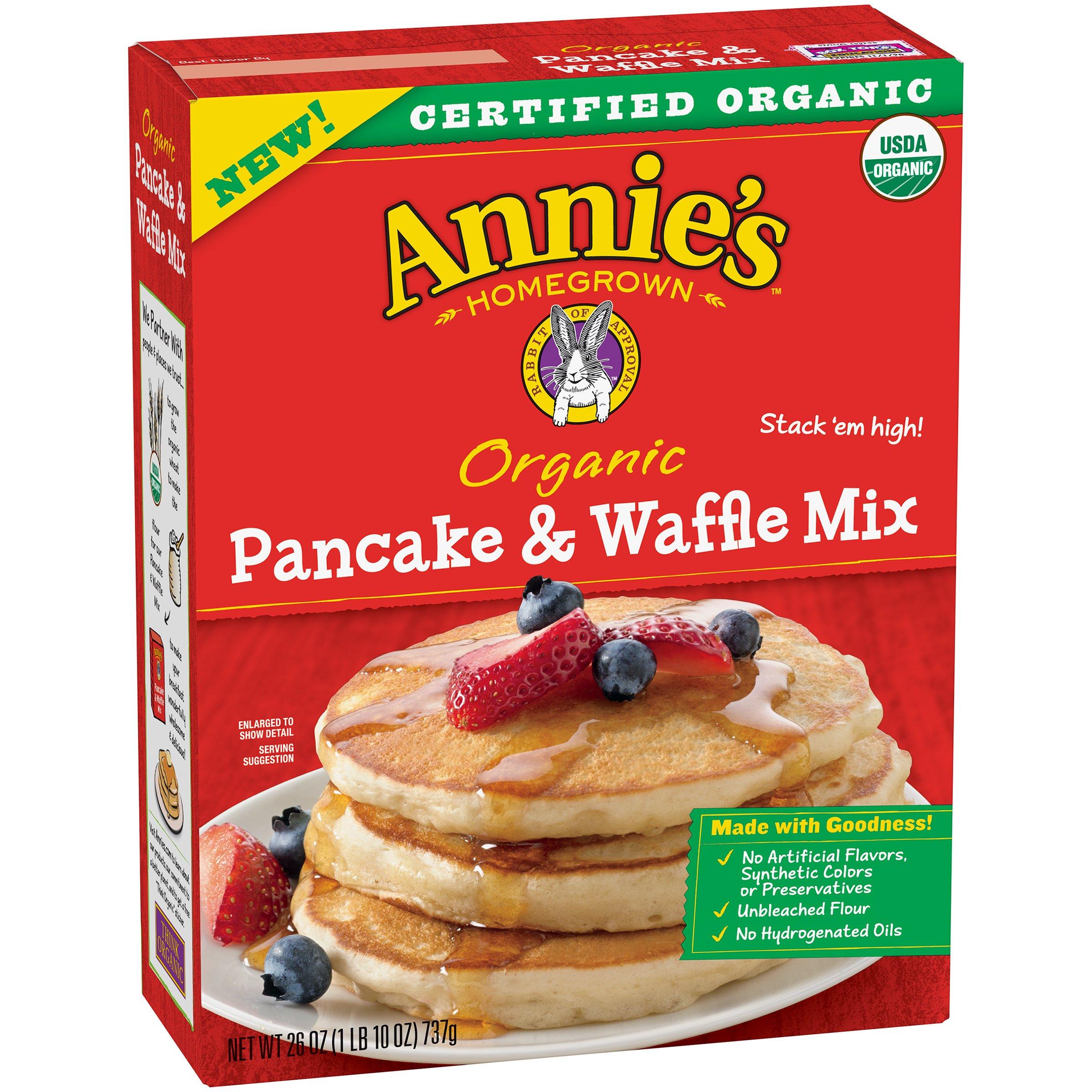 Annie's Organic Pancake & Waffle Mix, 26 oz