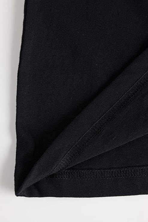JP 1880 Mens Big /& Tall JP Logo Basic Tee Black Large 702559 10