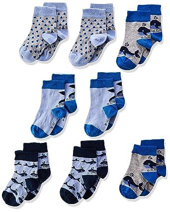 15b113ff92173 s.Oliver Socks Chaussettes, (Lot de 8) Mixte bébé: Amazon.fr: Vêtements et  accessoires