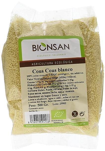 Bionsan Cous Cous Blanco - 6 Paquetes de 500 gr - Total ...