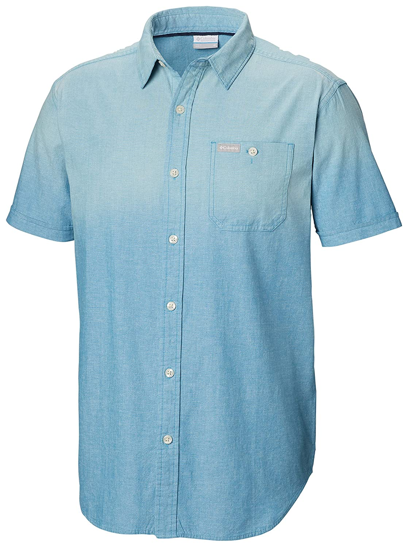 Columbia Pilot Peak Chambray Short Sleeve Shirt