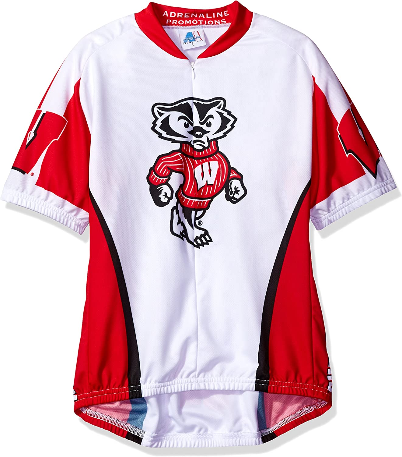 NCAA Womens Wisconsin Badgers Cycling Jersey