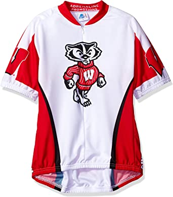 White NCAA Wisconsin Badgers Womens Admire Vest Large