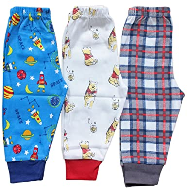37f59f360de67 BABY STATION Baby Premium Quality Grip Leggings Long Pant Pajama -3 Pack (0-