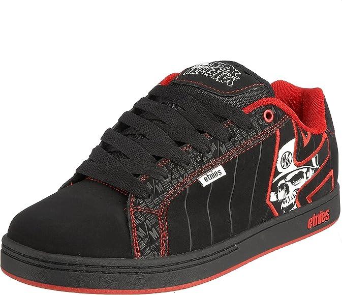 Fader Metal Mulisha Skate Shoe,Black