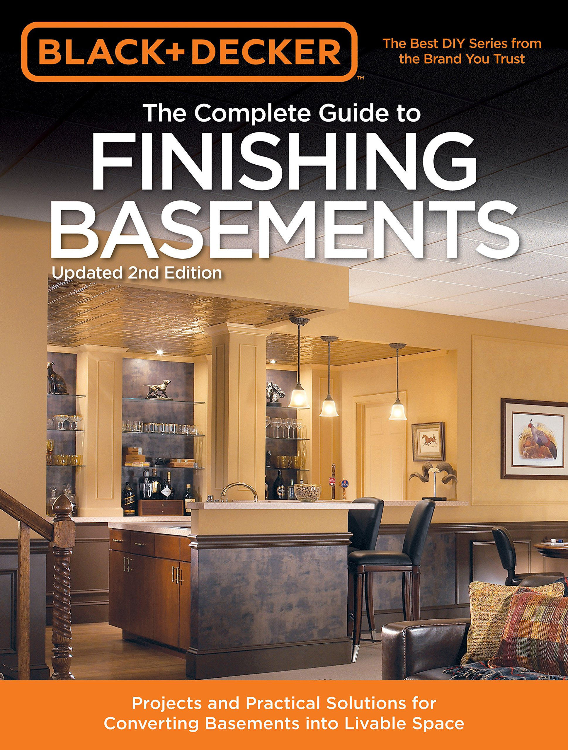 Black Decker The Complete Guide To Finishing Basements Projects
