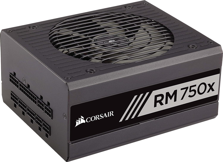 Corsair Rm750x Pc Netzteil Voll Modulares Kabelmanagement 80 Plus Gold 750 Watt Eu