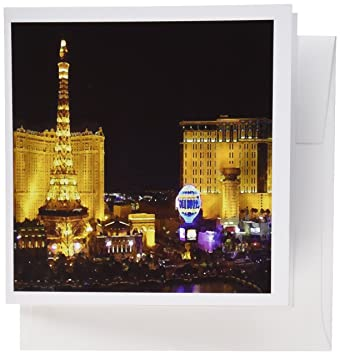 Amazon 3drose las vegas greeting cards 6 x 6 inches set of 3drose las vegas greeting cards 6 x 6 inches set of 6 m4hsunfo