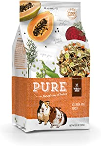 Witte Molen Pure Seed Guinea Pig Food Mixture Papaya & Peas Dry, (Abyssinian, American, Coronet, Peruvian)